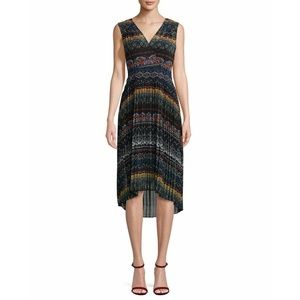 Anthro Plenty Tracy Reese Pleated Midi Dress 4